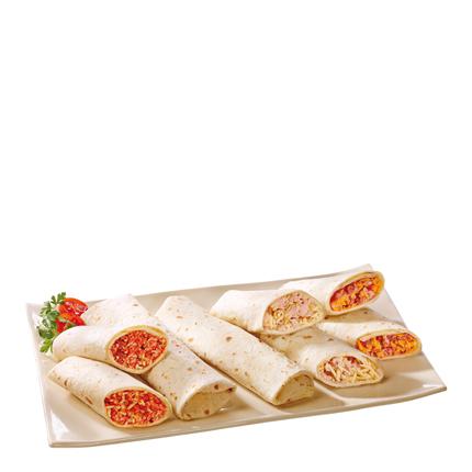 Flautas de pollo y queso Carrefour 280 g -