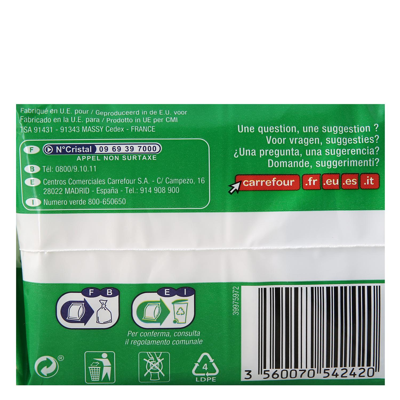 Compresas ultrafinas super con alas ecológicas Carrefour Eco Planet 10 ud. -