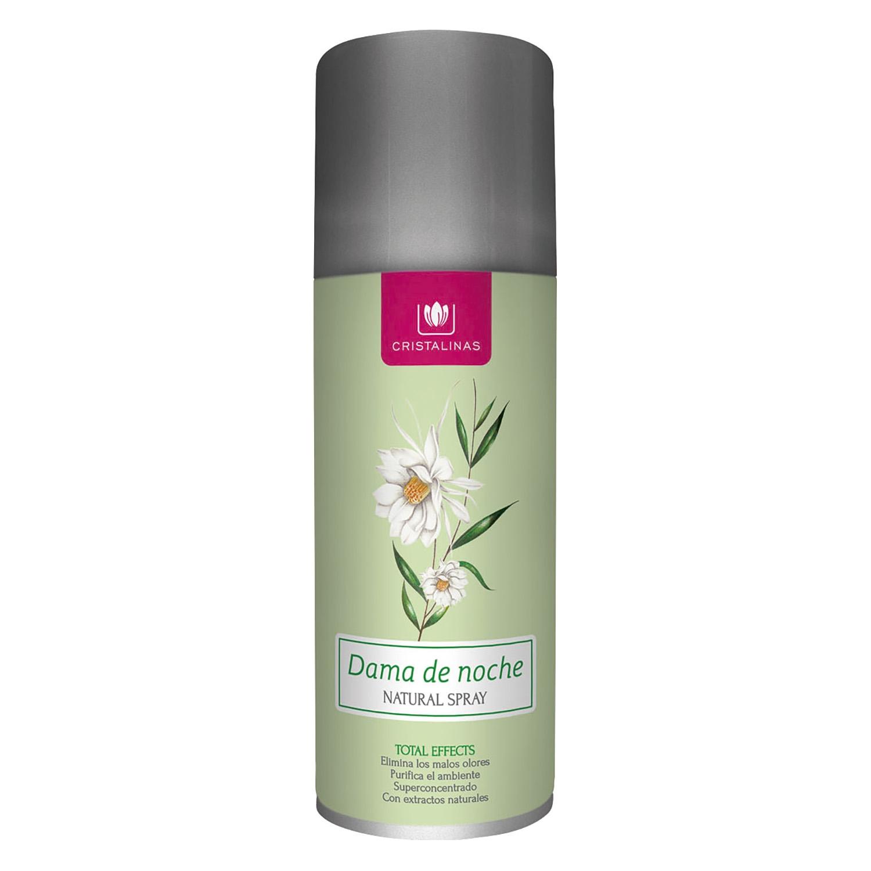 Ambientador aerosol dama de noche Cristalinas 200 ml.