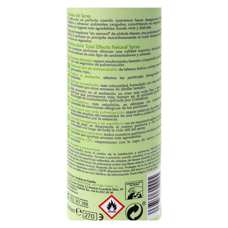 Ambientador aerosol dama de noche Cristalinas 200 ml. -