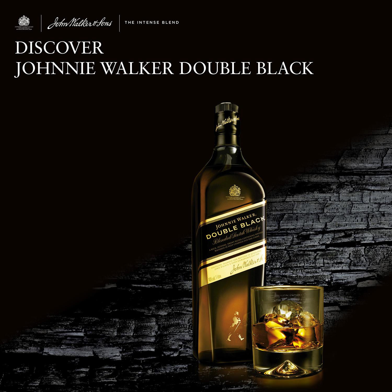 Whisky Johnnie Walker Double Black escocés 70 cl. - 4