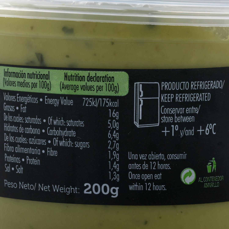 Guacamole picante tarrina 200 g - 2