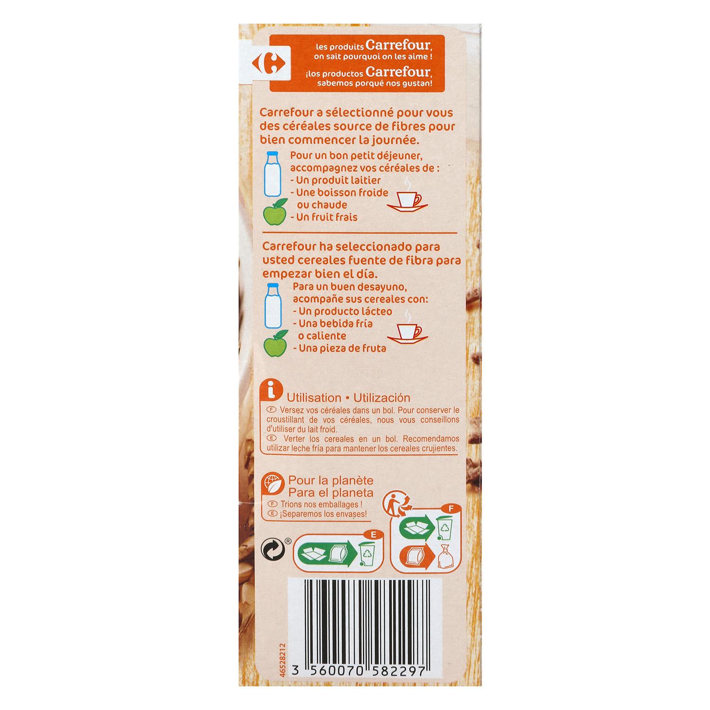 Cereales sticks Fibra Carrefour 500 g. -