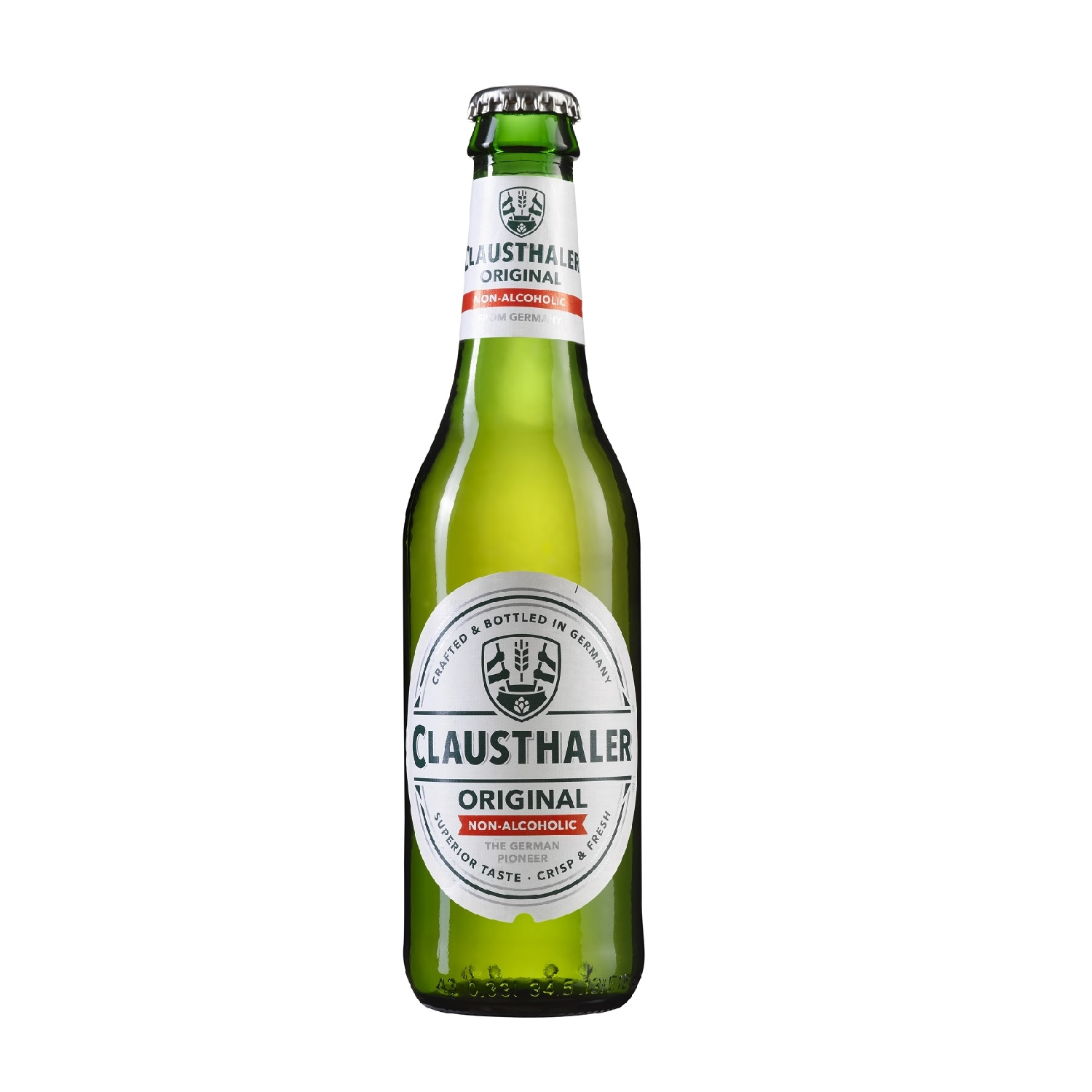 Cerveza Clausthaler sin alcohol botella 33 cl.