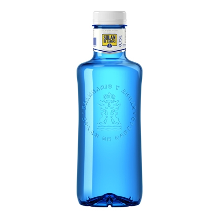 Agua mineral Solán de Cabras natural 75 cl.