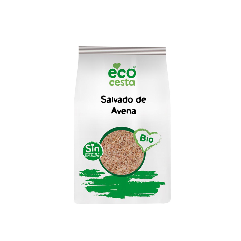 Salvado de avena ecológico Ecocesta 250 g.