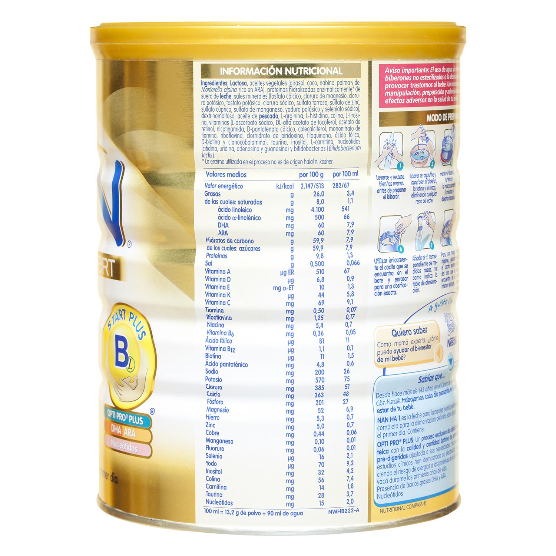 H.A. Expert 1 Leche para lactantes -