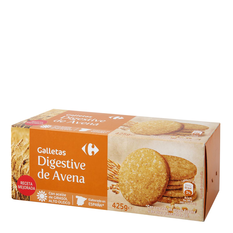 9123051159 Galletas de avena Digestive Carrefour 425 g. Carrefour - Carrefour ...
