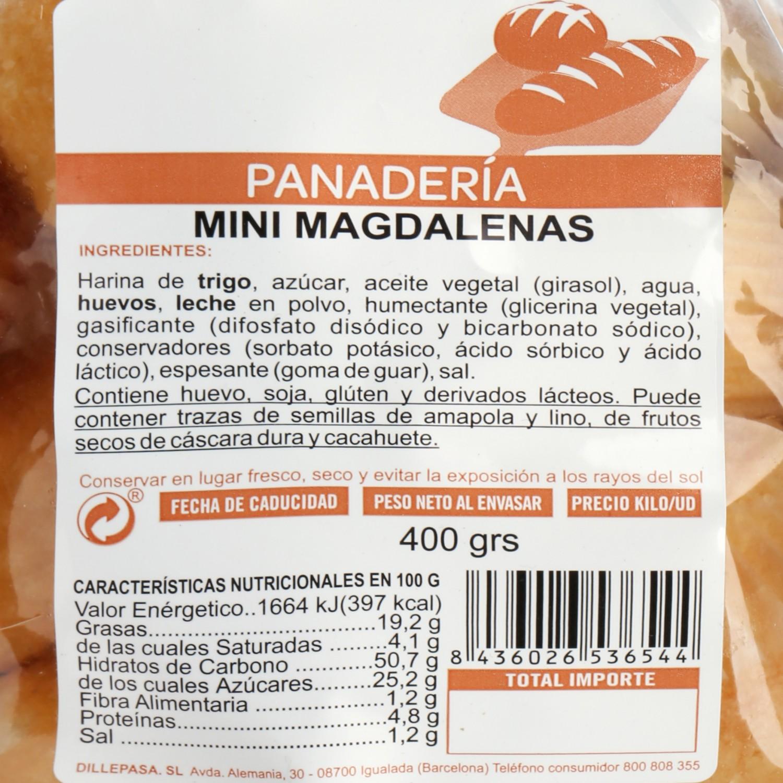 Mini Magdalenas Dillepasa 400 g - 3