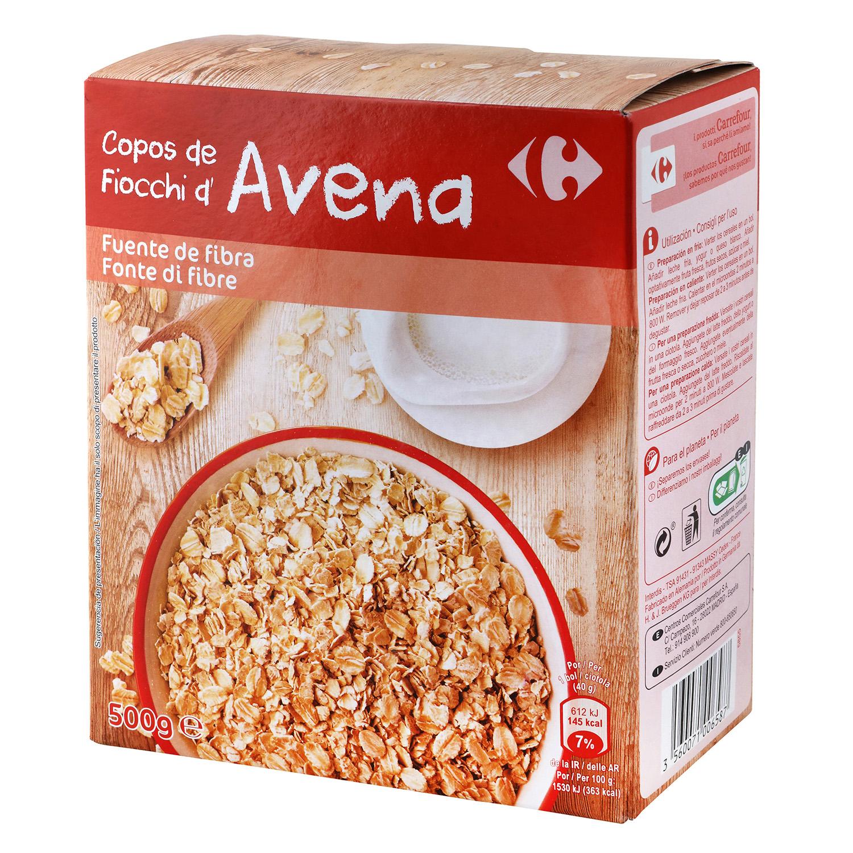 Cereales copos de avena carrefour carrefour supermercado compra online - Copos de avena bruggen ...