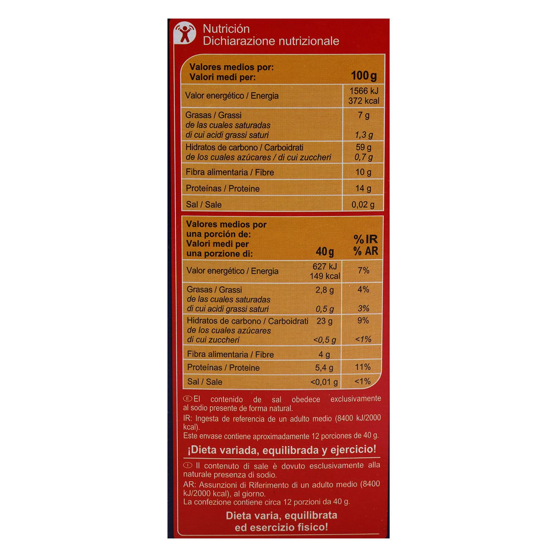 Copos de avena Carrefour 500 g. - 3