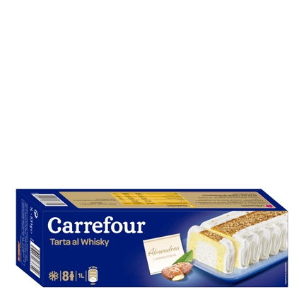 Tarta whisky Carrefour 540 g.