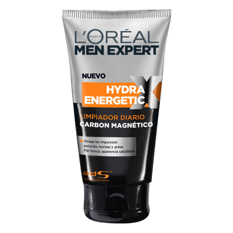 Gel limpiador carbón magnético Hydra Energetic L'Oréal-Men Expert 1 ud.