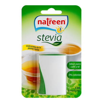 Edulcorante de la planta stevia Natreen 120 ud.
