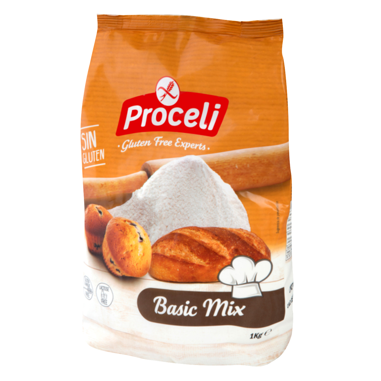 Harina Proceli sin gluten para pan 1 kg.