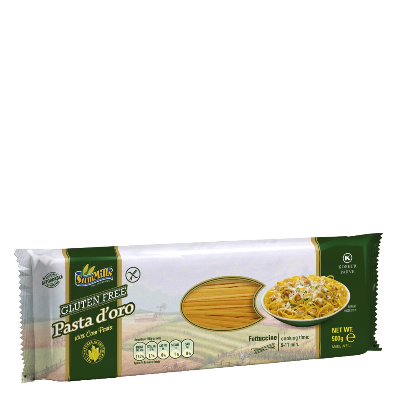 Fettuccine SamMills sin gluten 500 g.