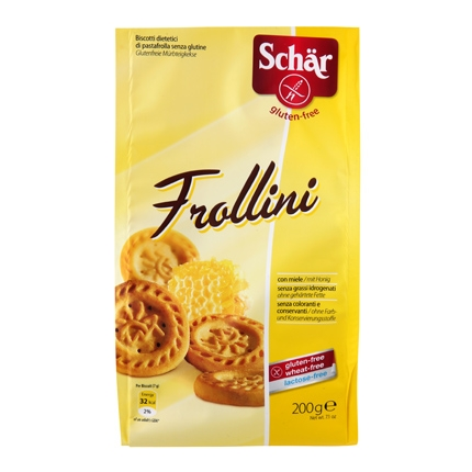 Galleta pastaflora frollini - Sin Gluten