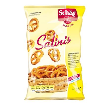 Salinis pretzel - Sin Gluten