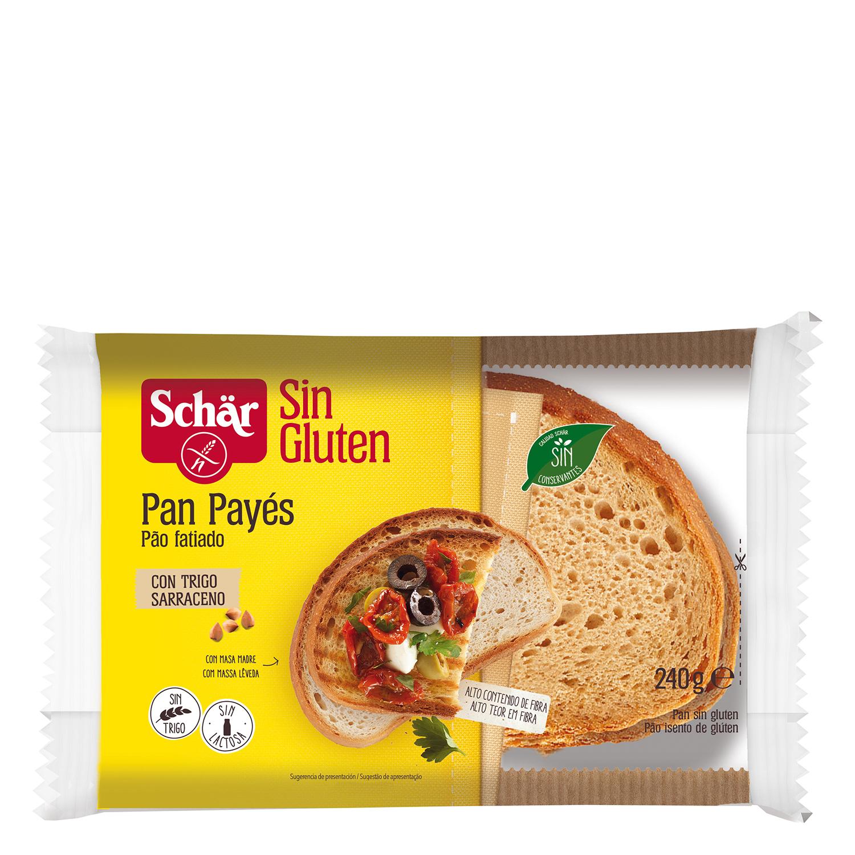 Pan casero Schär sin gluten 240 g.