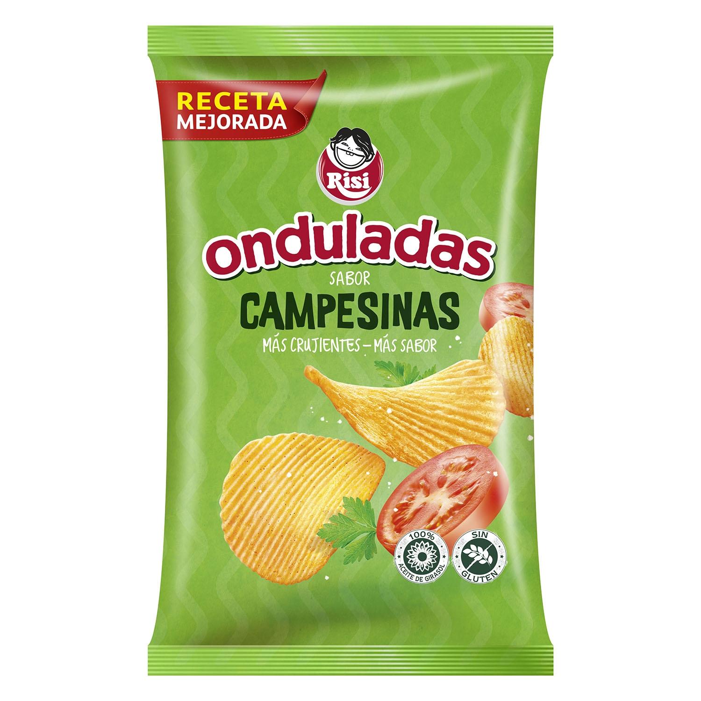Patatas fritas sabor campesinas Risi 100 g.