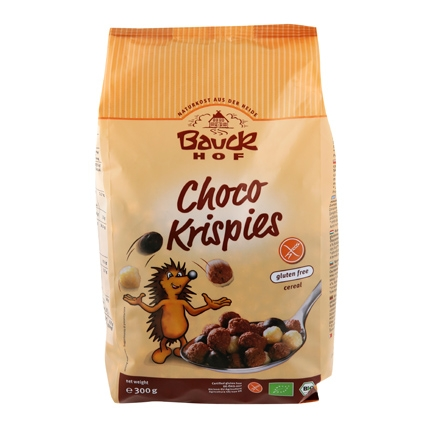 Cereales Choco Krispies Bauck Hof 300 g.