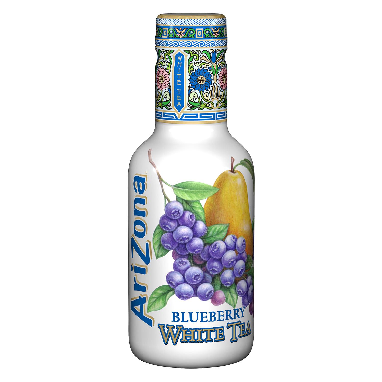 Refresco de té blanco Arizona sabor arándanos botella 50 cl.