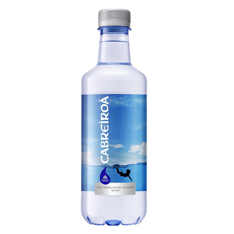 Agua Cabreiroá Magma natural con gas carbónico en botella de aluminio 50 cl.