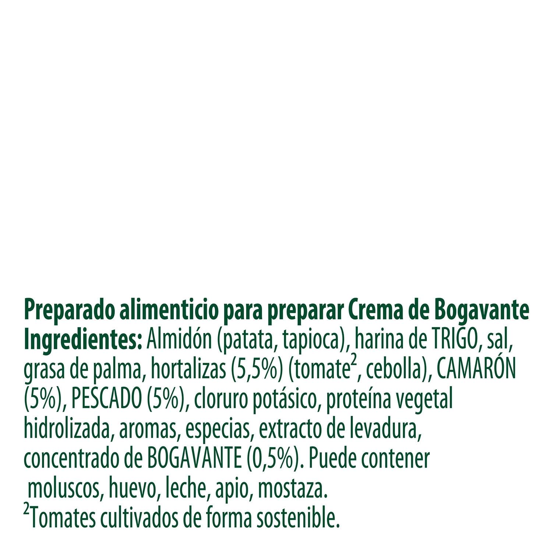 Crema de bogavante con un toque de hinojo y cilantro Knorr 61 g. - 2