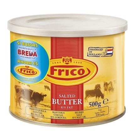 Mantequilla con sal Frico 500 g.