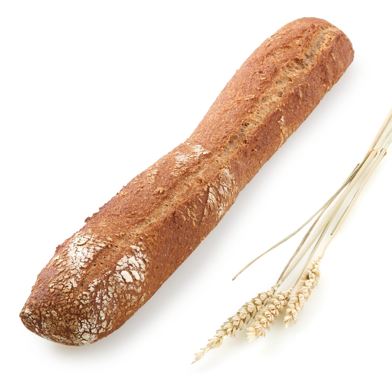 Barra de pan integral 100%