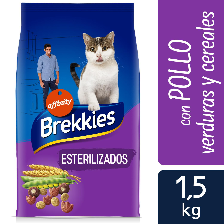 Alimento Gato Seco Esterilizados con Pollo y Cereales Integrales