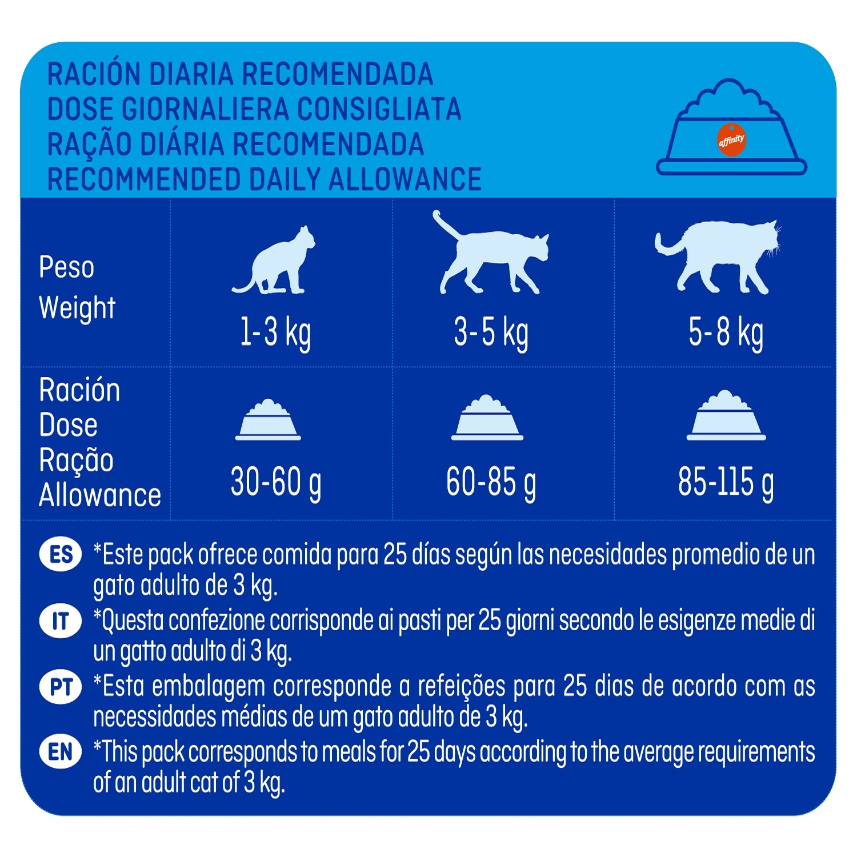 Alimento Gato Seco Esterilizados con Pollo y Cereales Integrales - 4