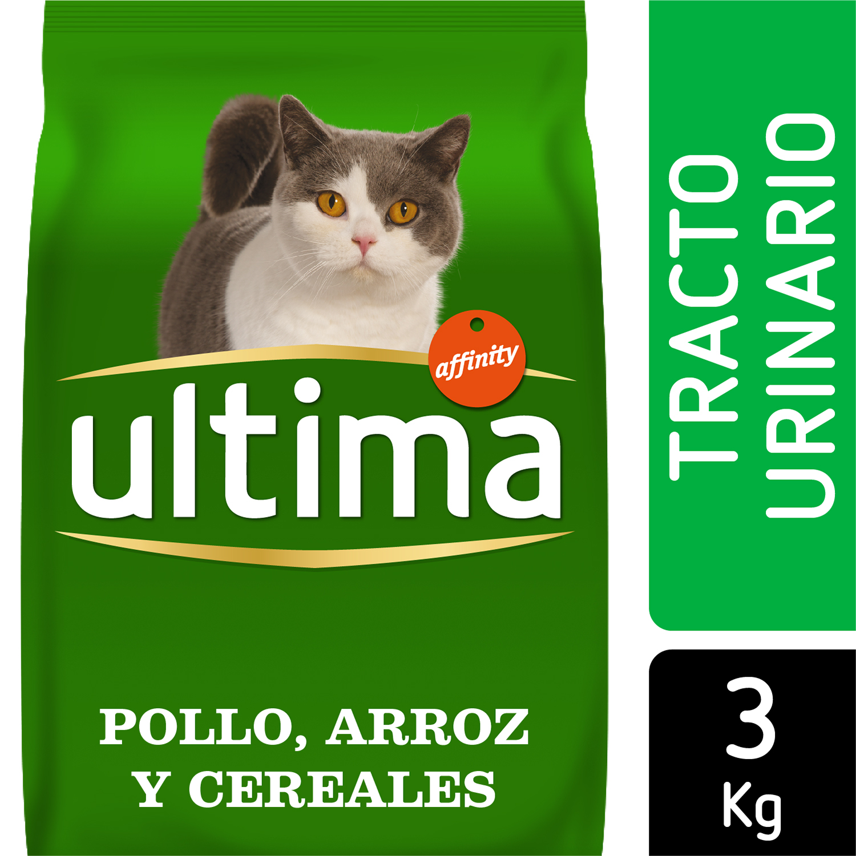 Ultima Pienso para Gato Adulto control tracto Urinario 3kg. -