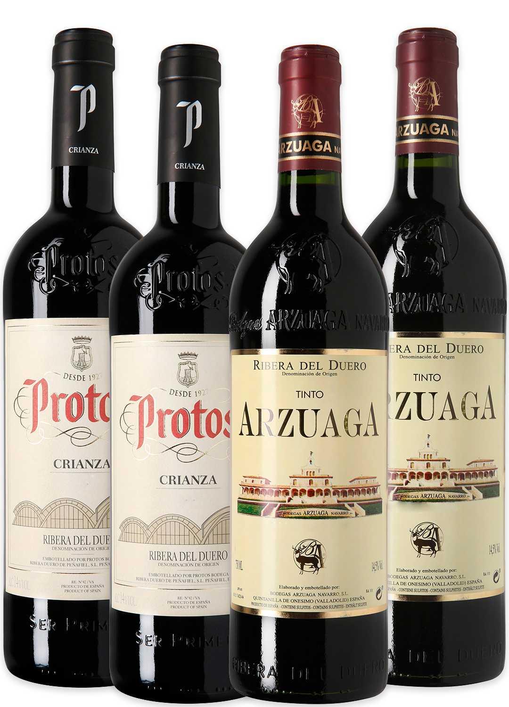Arzuaga + Protos  Blanco