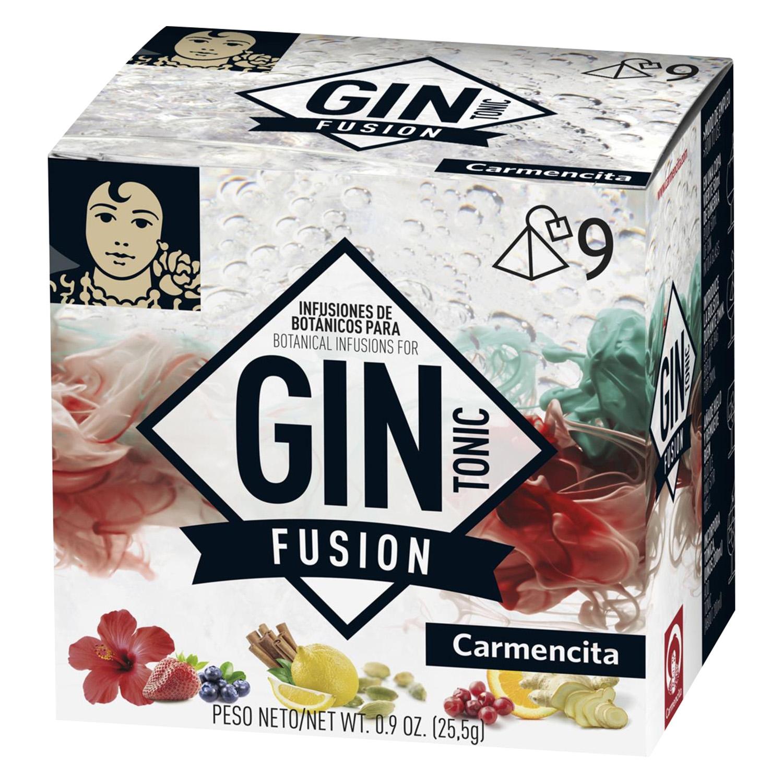 Infusiones de botánico para gin tonic Carmencita 25,5 g.