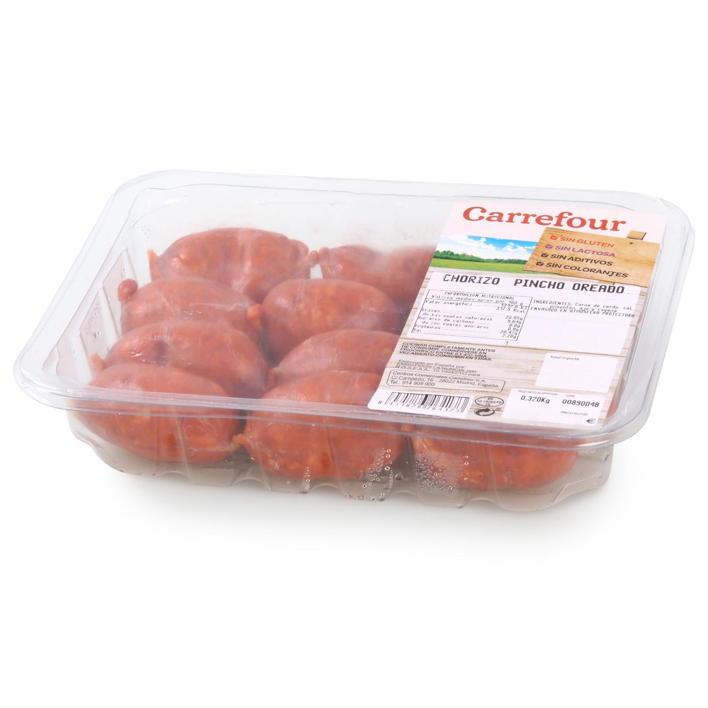 Chorizo Pincho Oreado Sin Aditivos Carrefour 320 g