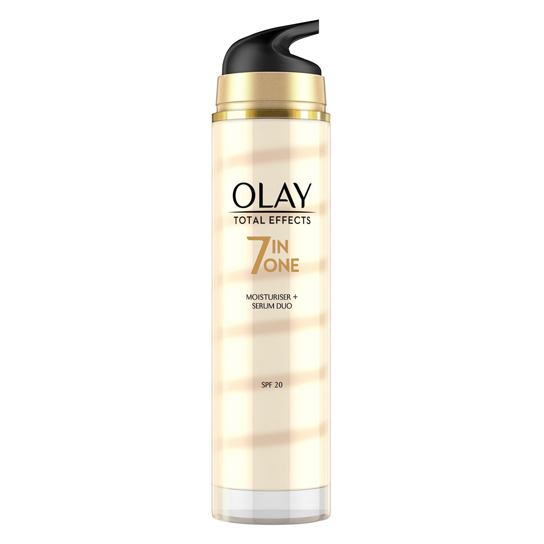 Dúo crema hidratante + sérum Total Effects 7 en 1 SPF20 Olay 50 ml. -