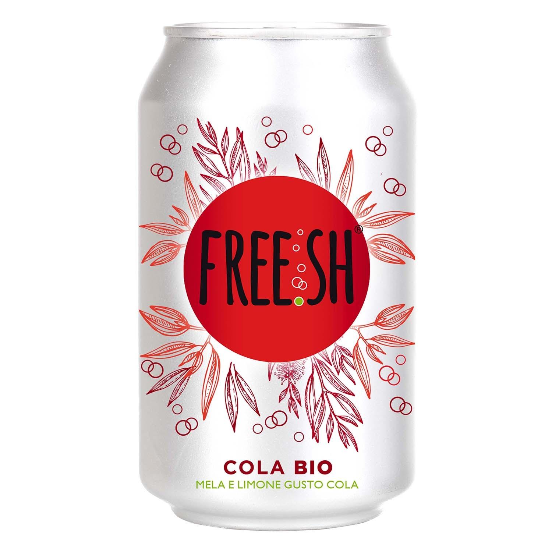 Refresco de cola ecológico Free.sh lata 33 cl.