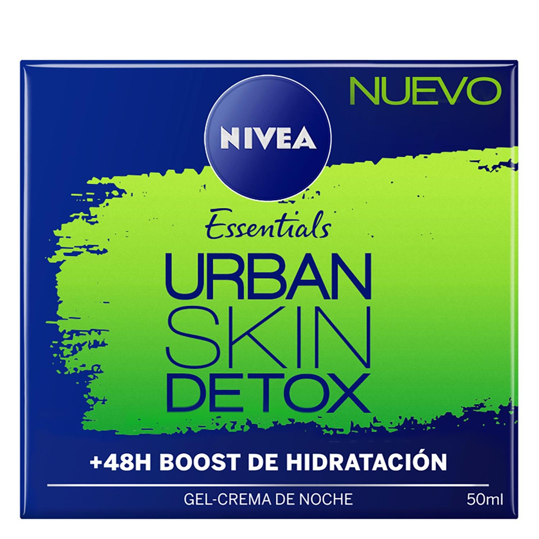 Crema de noche Urban Skin Detox Nivea 50 ml.
