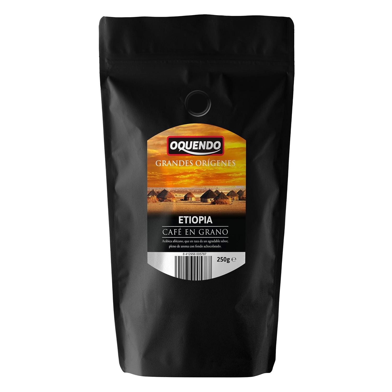 Café grano natural grandes orígenes Etiopia