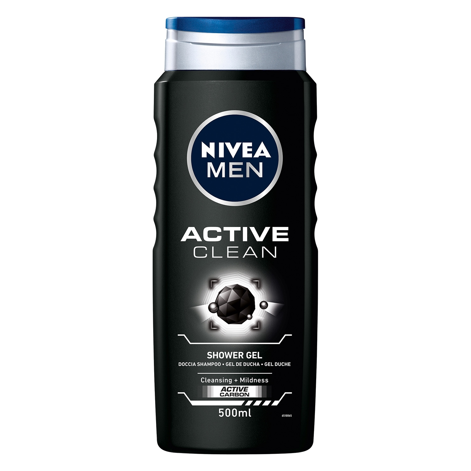 Gel de ducha Active clean con  carbón activo