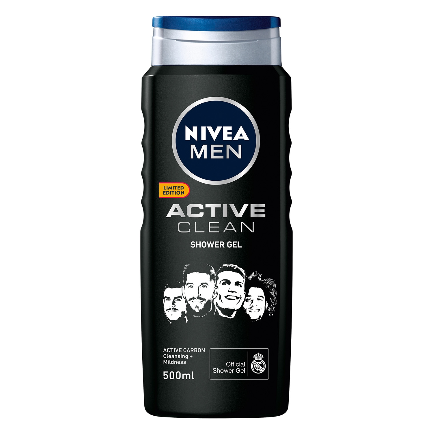 Gel de ducha Active clean con  carbón activo -
