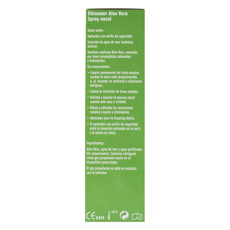 Cuidado de las fosas nasales Aloe vera - 3