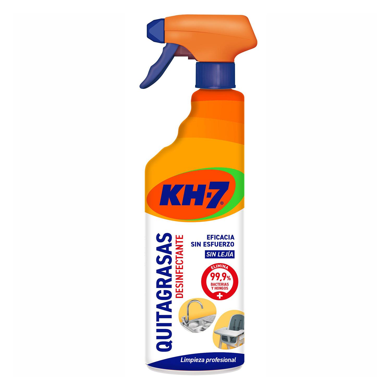 Quitagrasas desinfectante KH-7 650 ml.