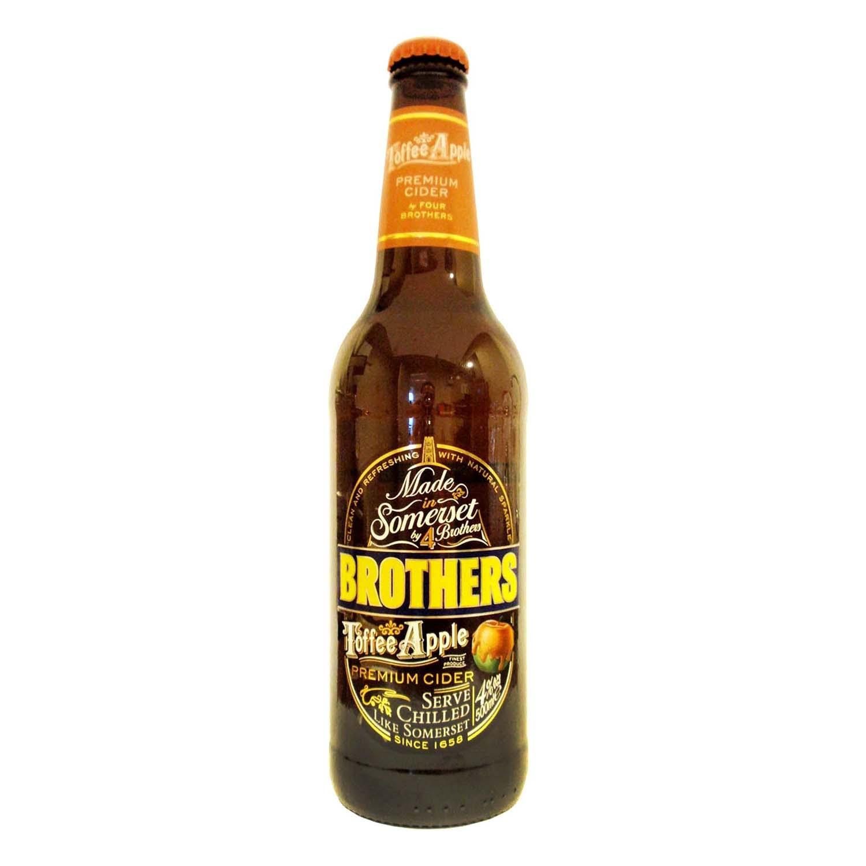 Sidra Brtothers sabor toffee 50 cl.