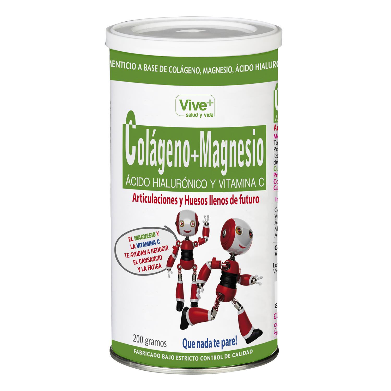 Colágeno y Magnesio Vive Plus 200 g.