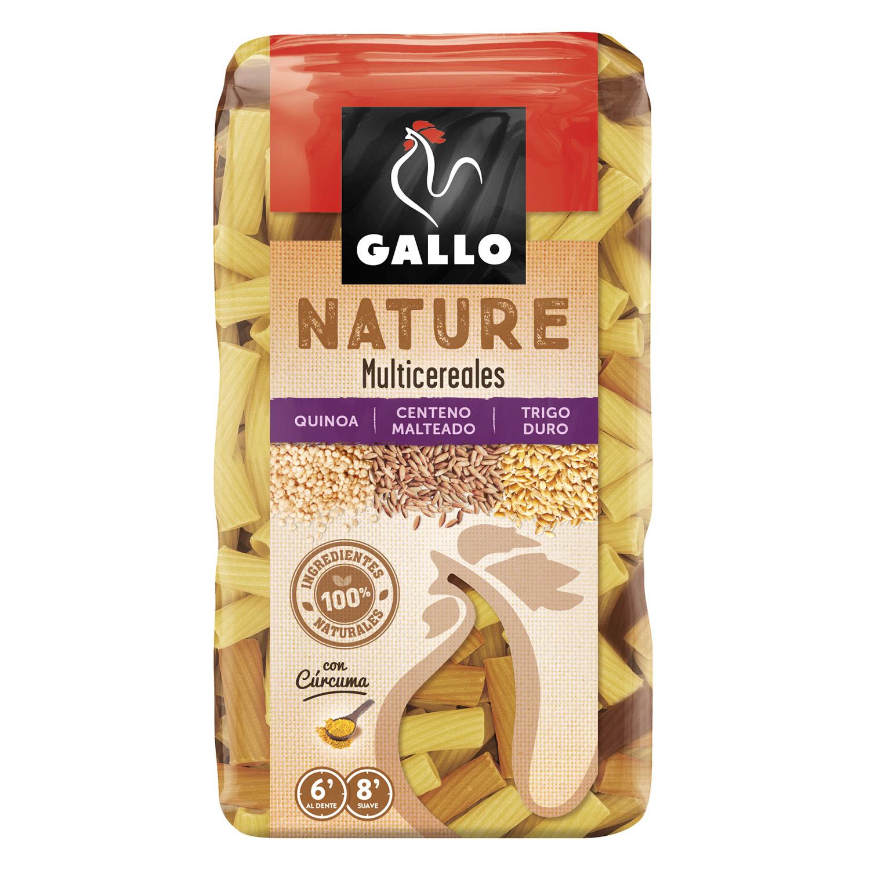 Macarrones Gallo Nature cereales 400 g.