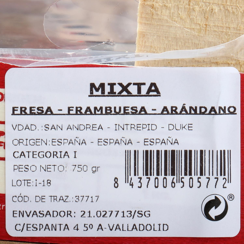 Surtidos de fresas y frutos rojos Carrefour 1ud. - 3