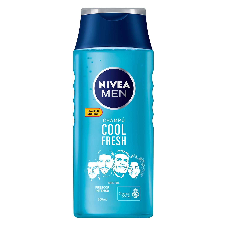 Champú Cool fresh mentol Nivea Men 250 ml. -