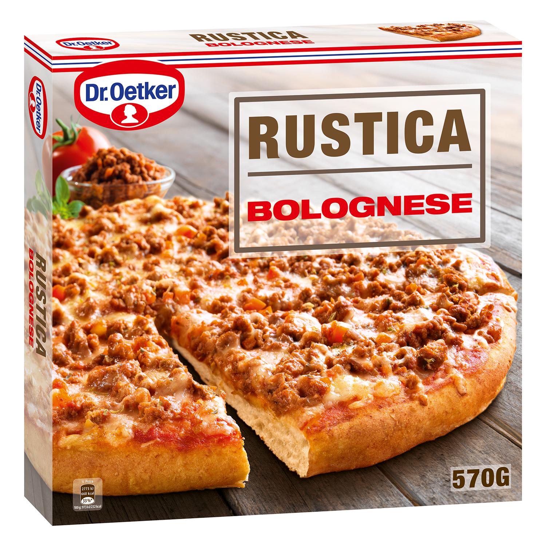 Pizza Rústica Boloñesa